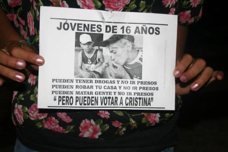 Foto del 8N en Córdoba.